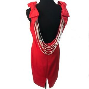 WOW vintage 80's cocktail dress